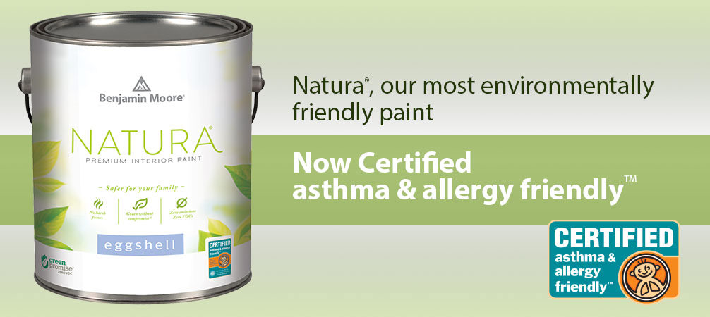 Natura - Asthma & Allergy Friendly Benjamin Moore Paint